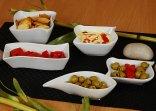 Naczynia, porcelanowe miseczki do sosów i dipów marki DayByDay