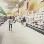 Zakupy w markecie