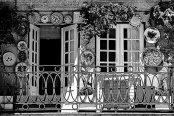dekoracyjna barierka balkonu