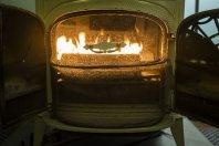 kominek, dom, ogień